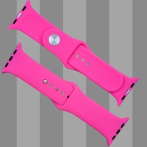 Watch Band Compatible with Apple Watch Hot Pink